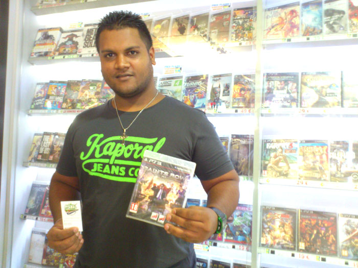 VedayaDaly Eraya a gagné SAINTS ROW sur Playstation 3