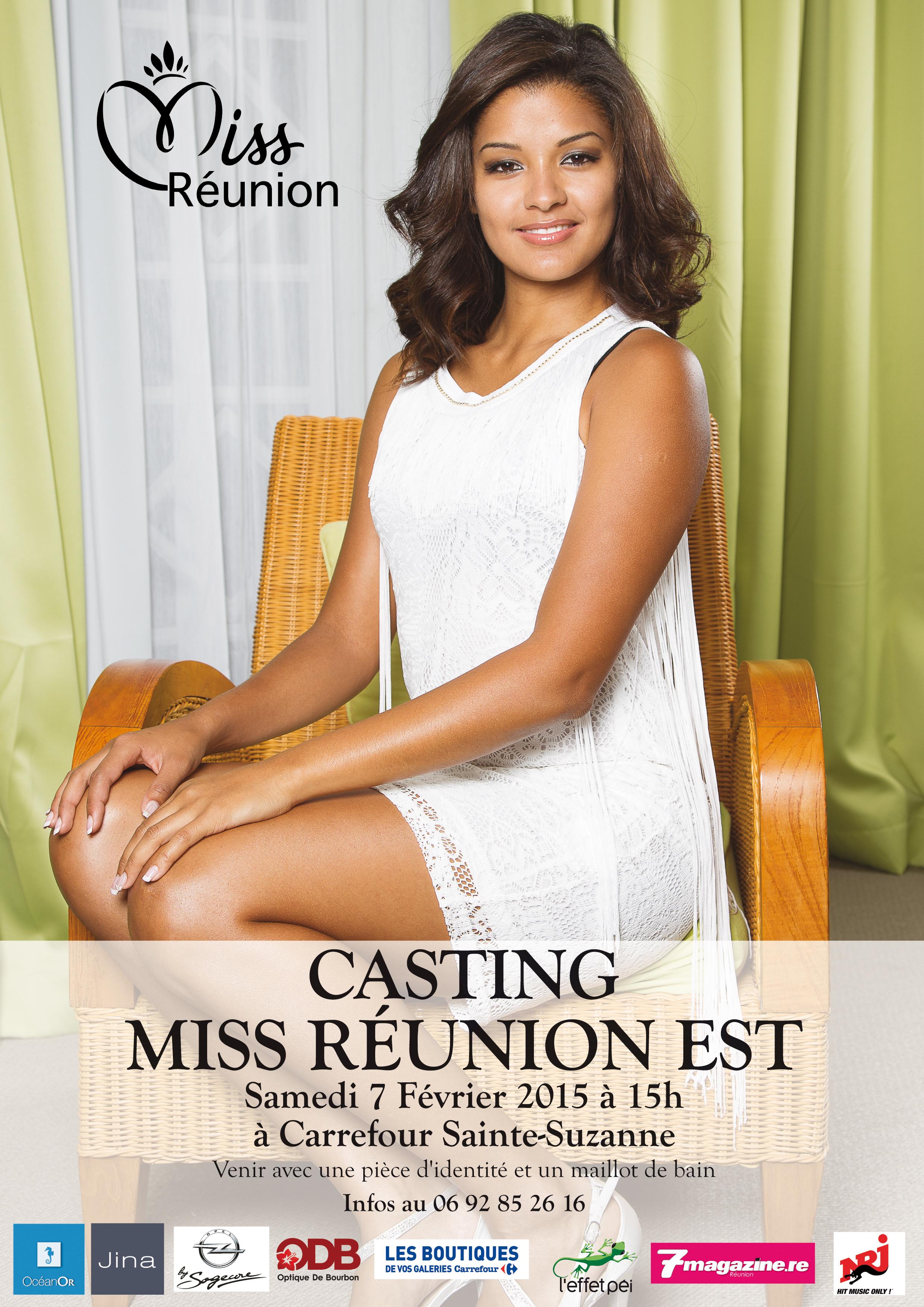 Casting Miss Réunion Est