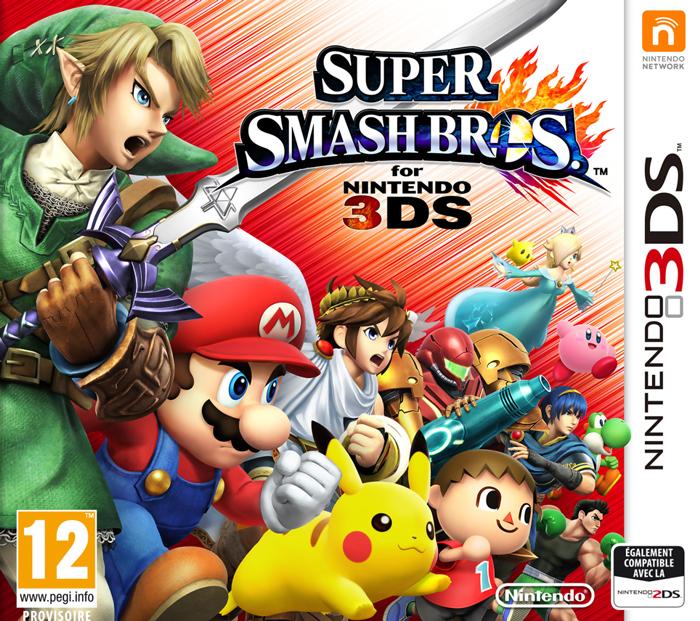 Super Smash Bros 3DS <br>et Power Rangers <br>Super Megaforce