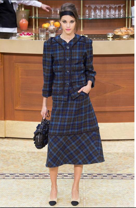 Elle défile pour les plus grands, ici pour Chanel la semaine dernière