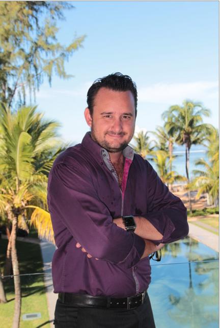 Frederick de Marcy Chelin, le dynamique directeur des ventes et du marketing de l'Outrigger Mauritius