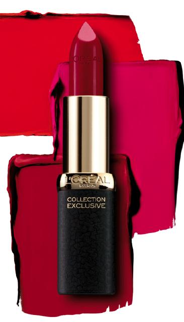 La Collection Exclusive Pure Reds de l'Oréal Paris <br> A chaque femme son rouge!