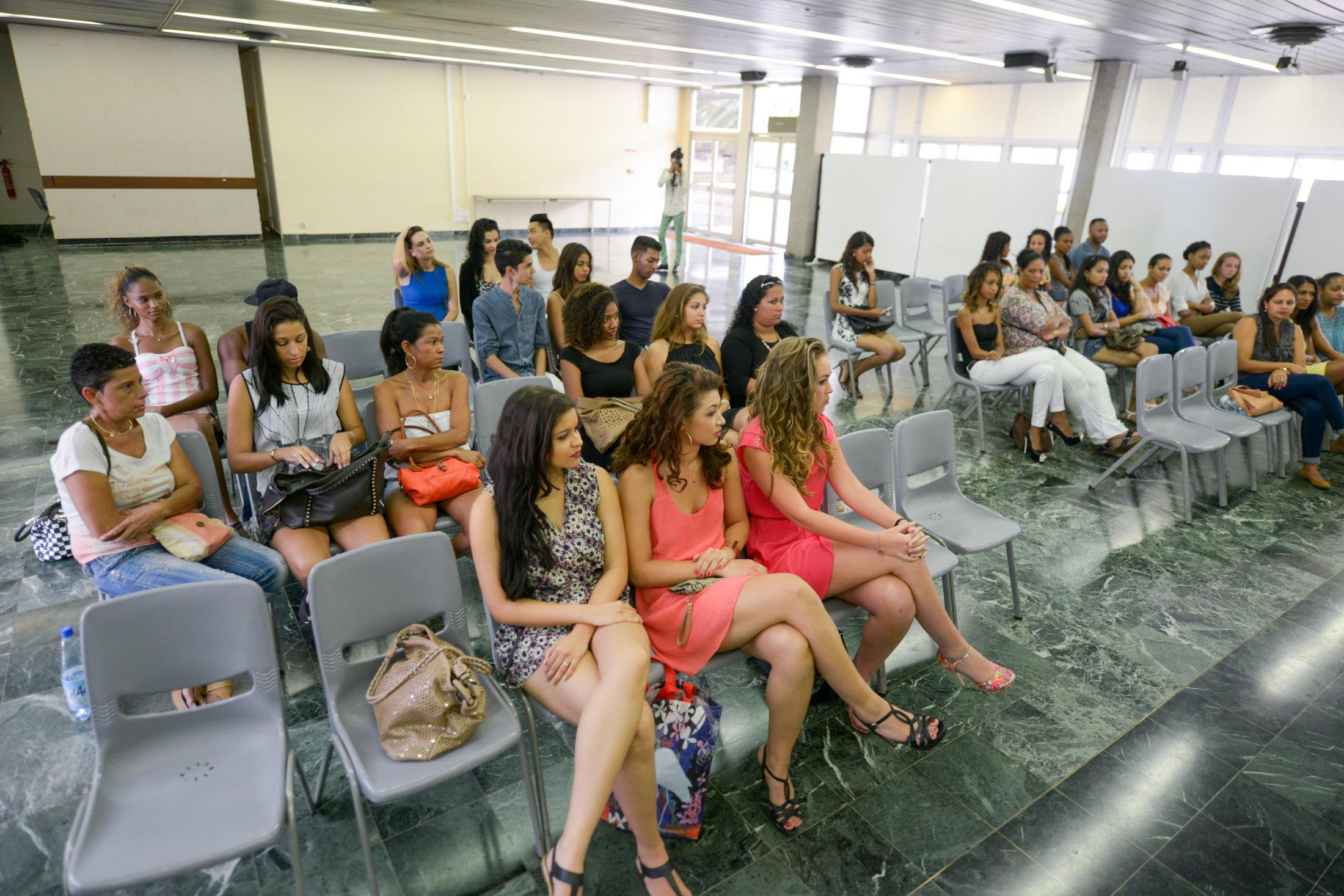 Casting Miss Réunion 2015 à Saint-Denis <br>D'autres photos des coulisses...