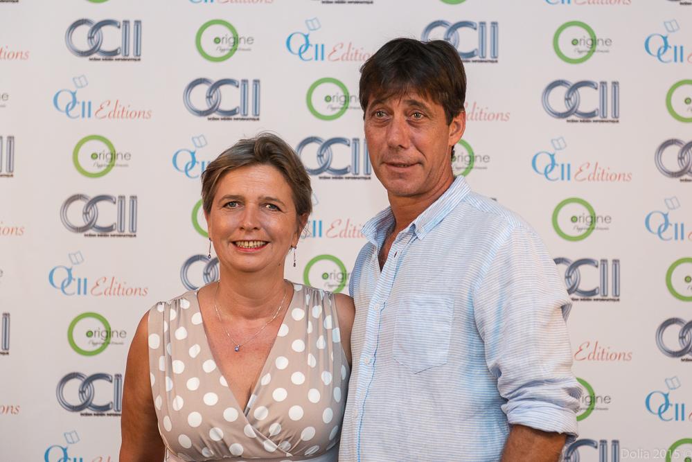 Myriam Boullay et son époux