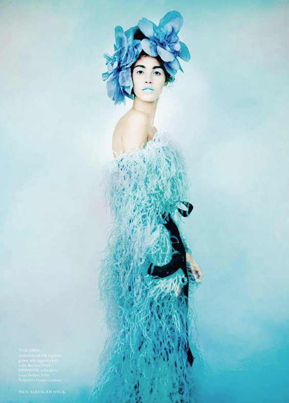 Pauline Hoarau dans le Harper's Bazaar britannique de juin