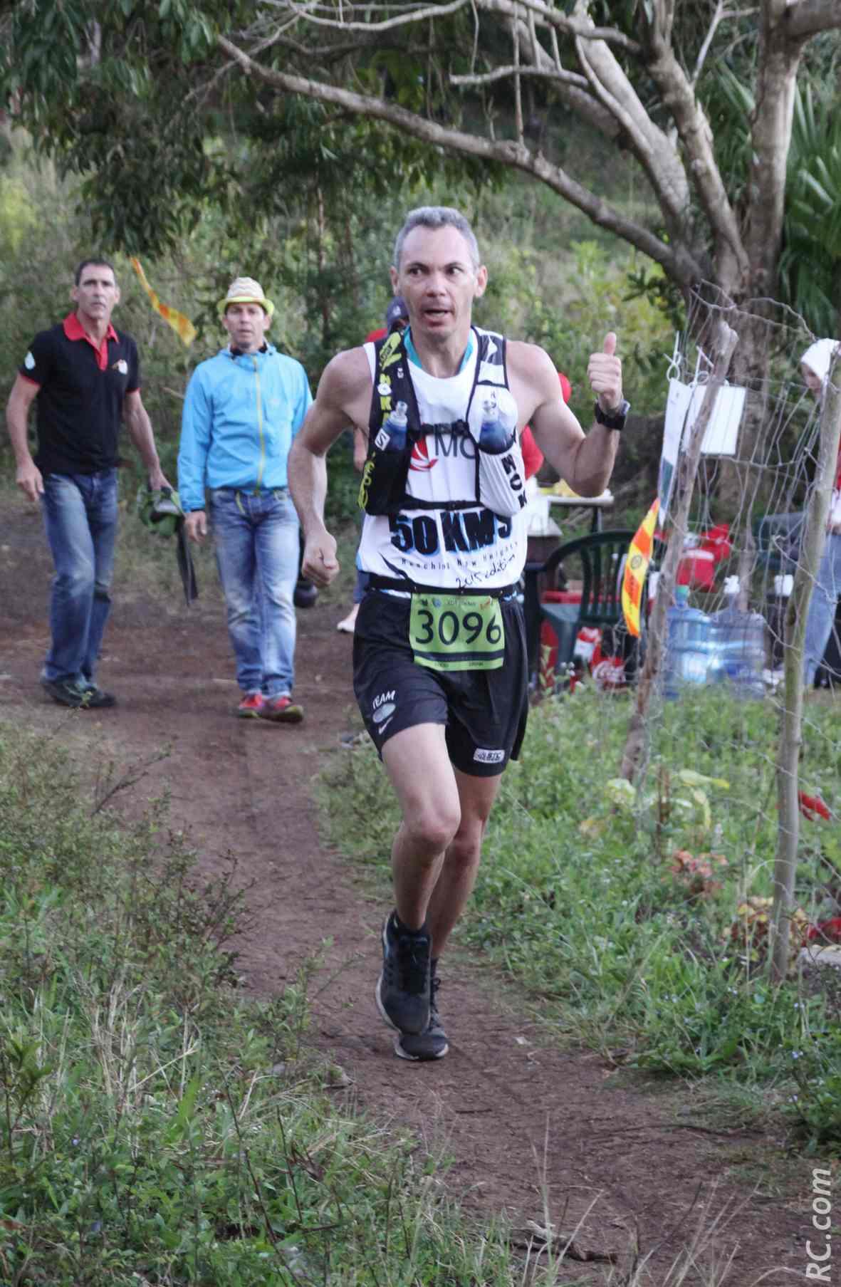 Fabrice Hoareau du Team City-Sport est 10ème de l'Xtrem Dodo Trail