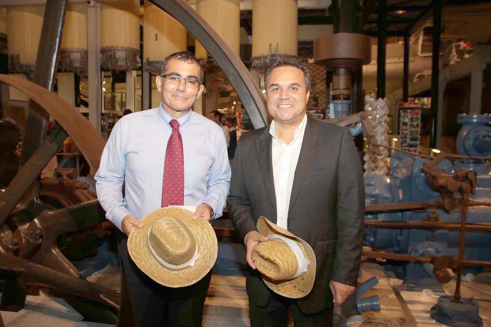 Patrick Serveaux, président de l'IRT, et Didier Robert