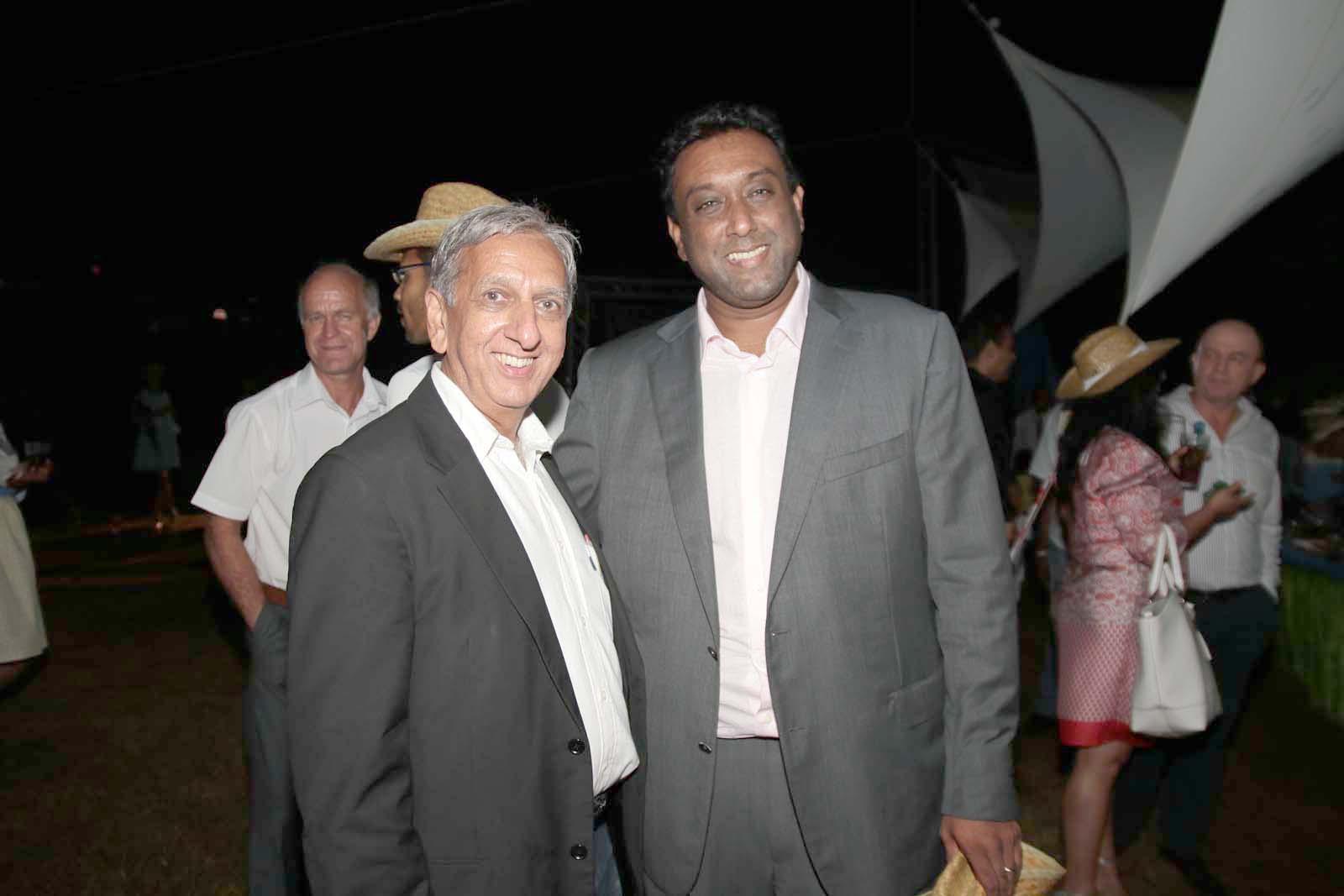 Aziz Patel et Jean-François Sita