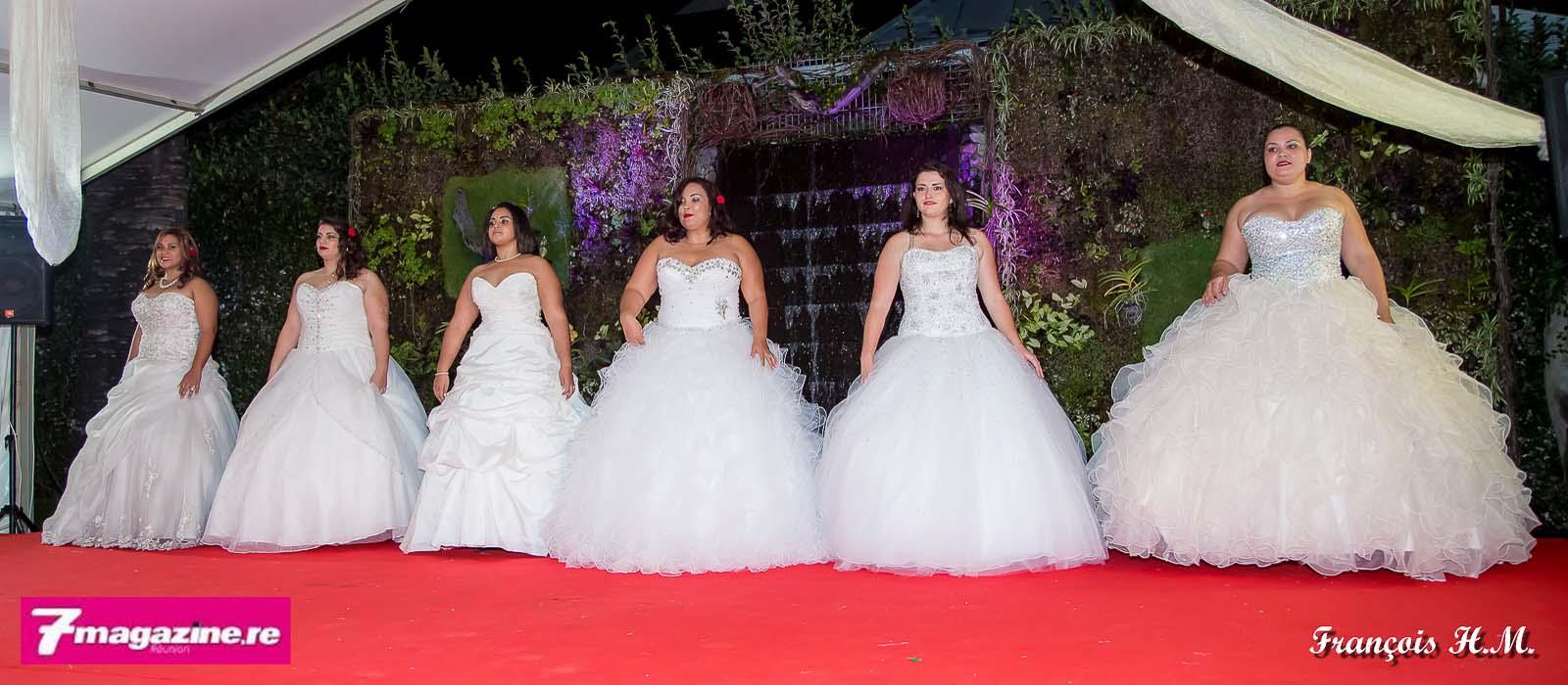 Le passage en robes de mariée