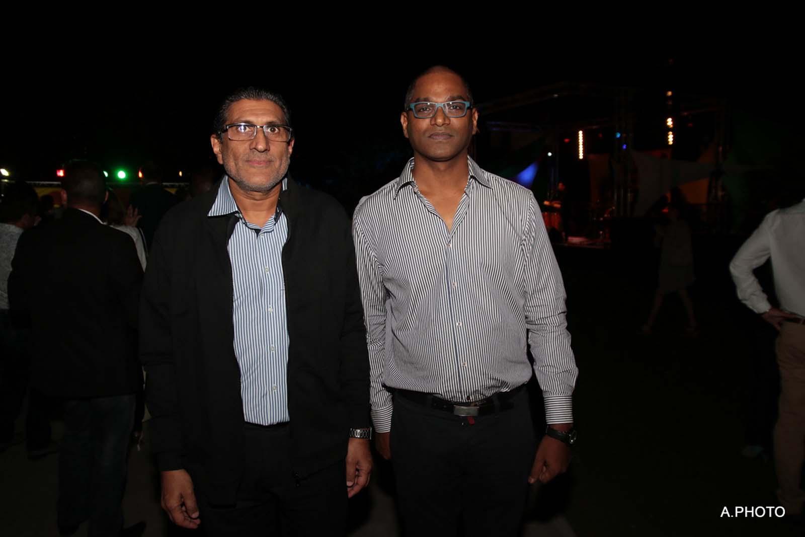 Salim Motara de la CCIR et Luigi Rangama de la Koopérativ des Commerçants