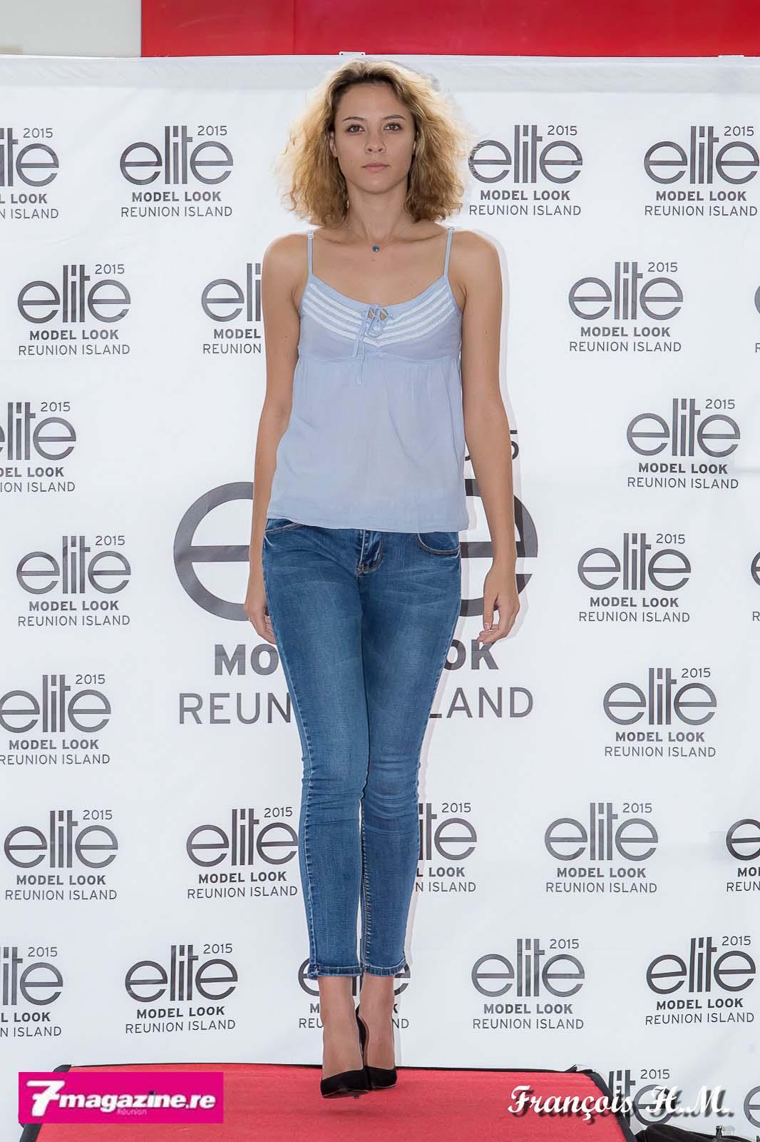 Jade Ethève, la lauréate Elite Model Look Reunion Island 2015 est venue encourager les candidates et leur faire une petite démonstration sur le catwalk