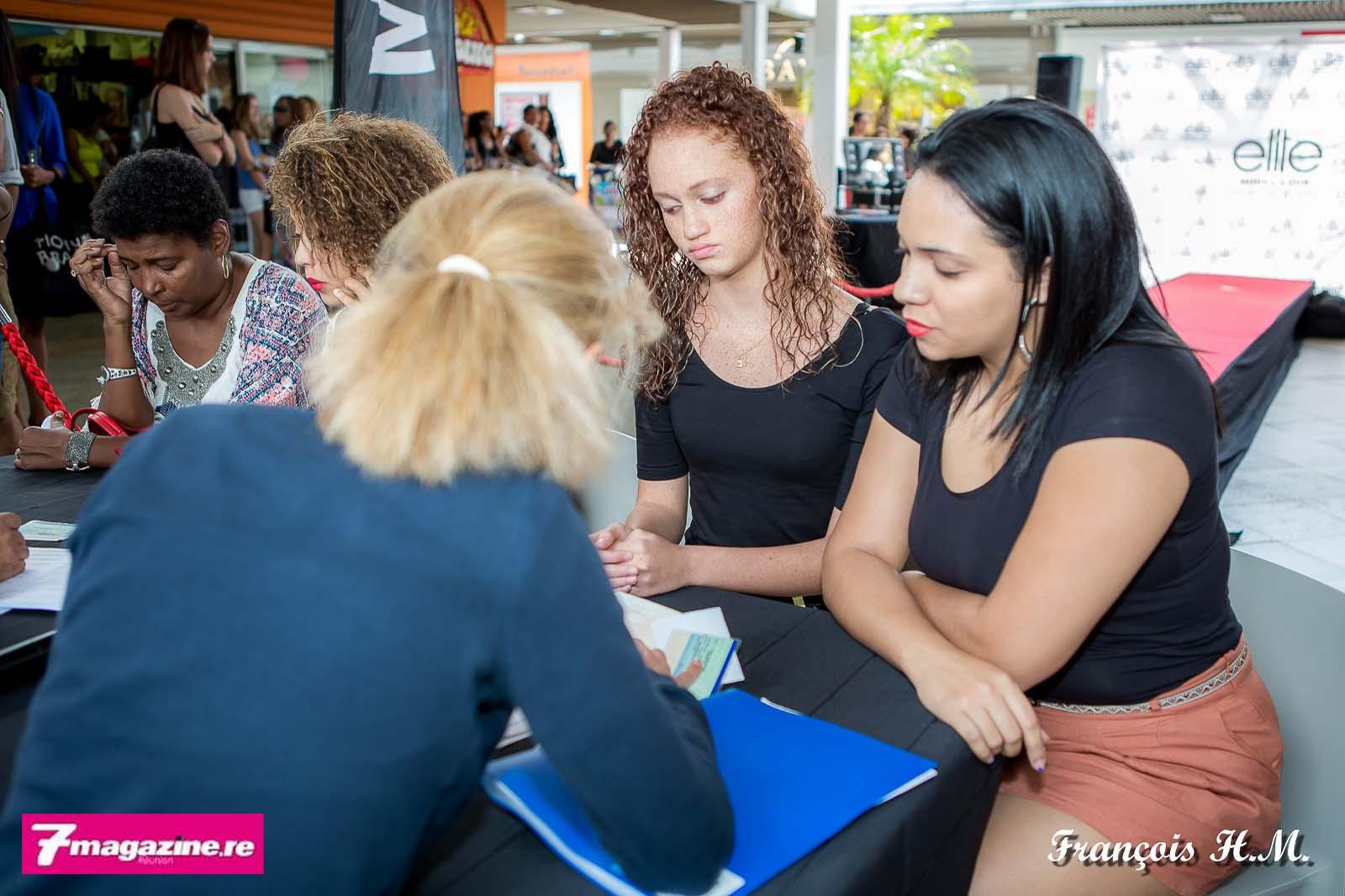 Rencontre avec les équipes d'Elite Model Look Reunion Island pour les jeunes filles et leur maman