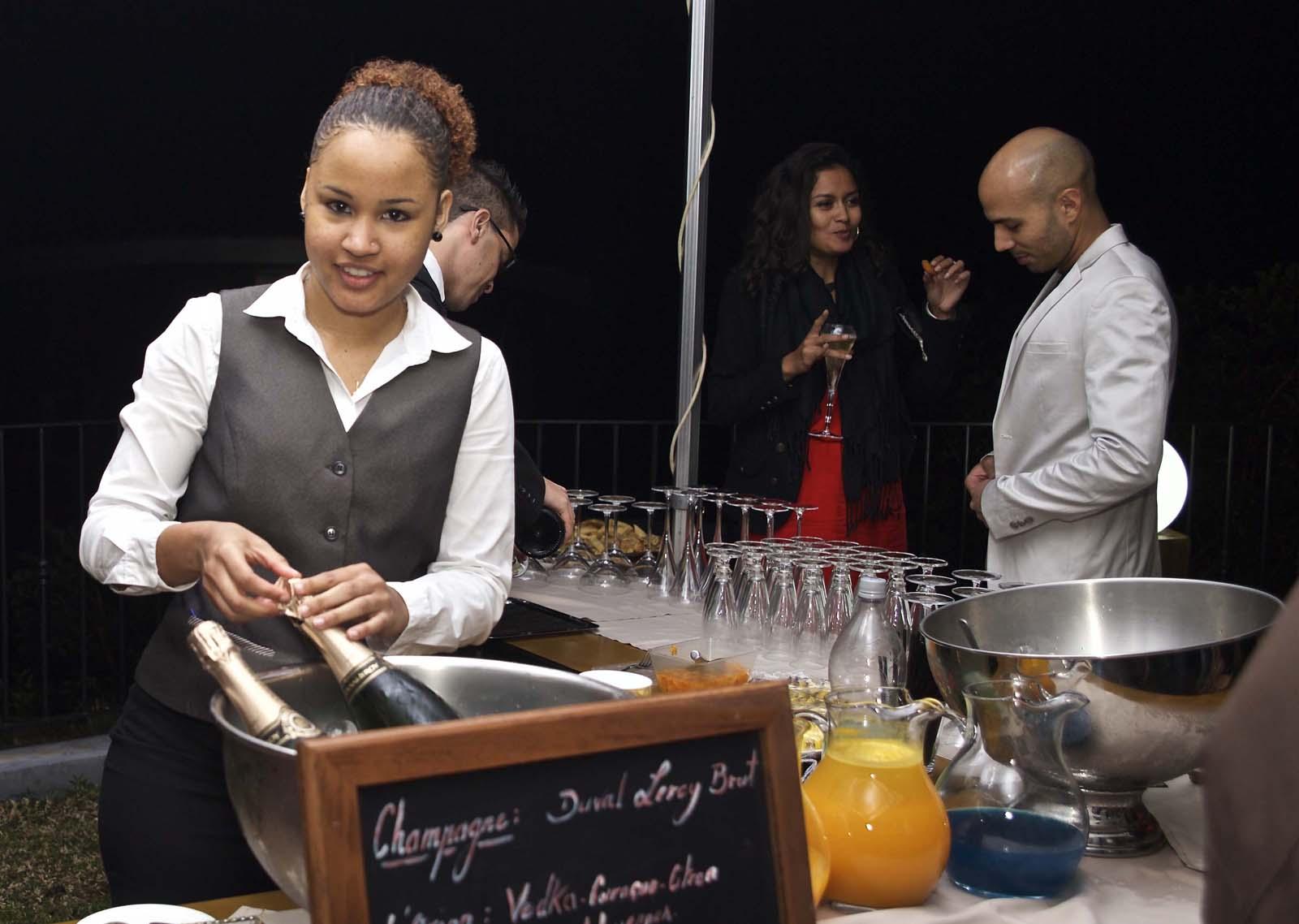 Laurianne aux cocktails...