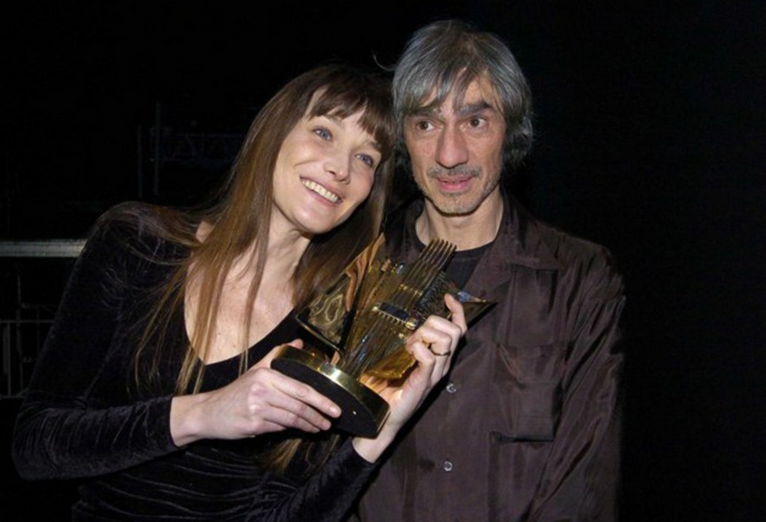 A 30 ans, Louis Bertignac sortait avec Carla Bruni, 16 ans!