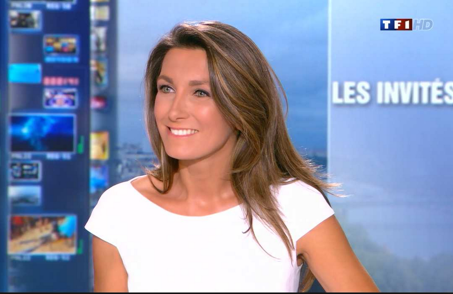 Anne-Claire Coudray et sa blague misogyne nulle!