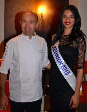Avec Laurent Pourcel, l'un des chefs étoilés du Jardin des Sens de Montpellier