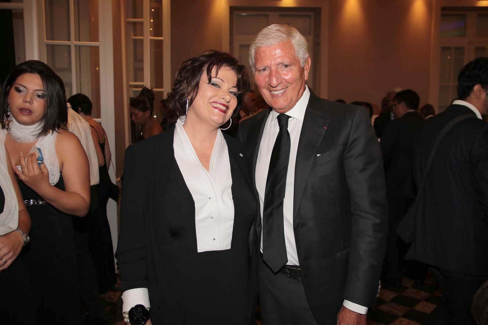 Jeanne Loyher, la marraine de l'ADGR et Jean-Pierre Haggai