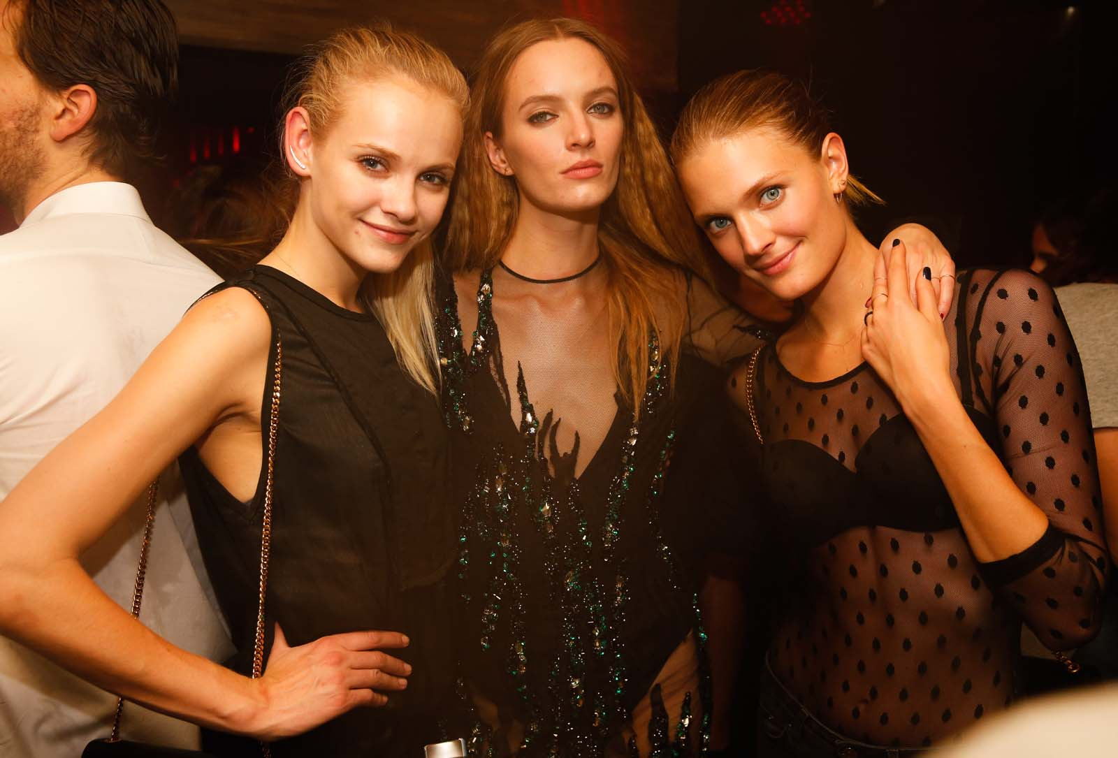 Les stars de la Fashion Week à L'Arc Paris
