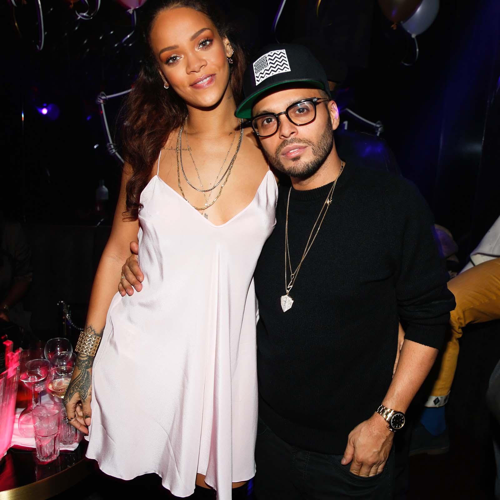 Rihanna et Richie Akiva