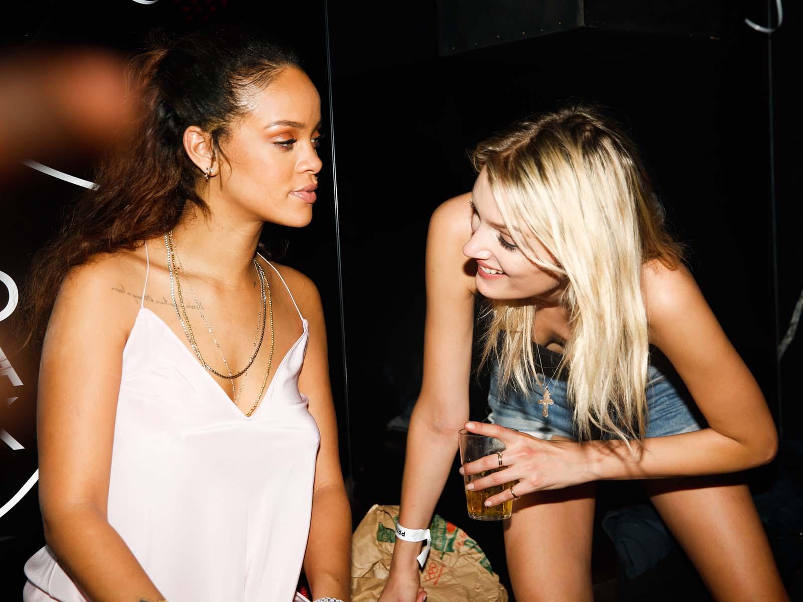 Rihanna, Lily Donaldson