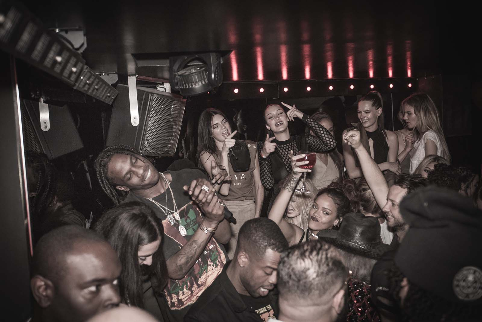 Travis Scott, Rihanna, Kendall Jenner