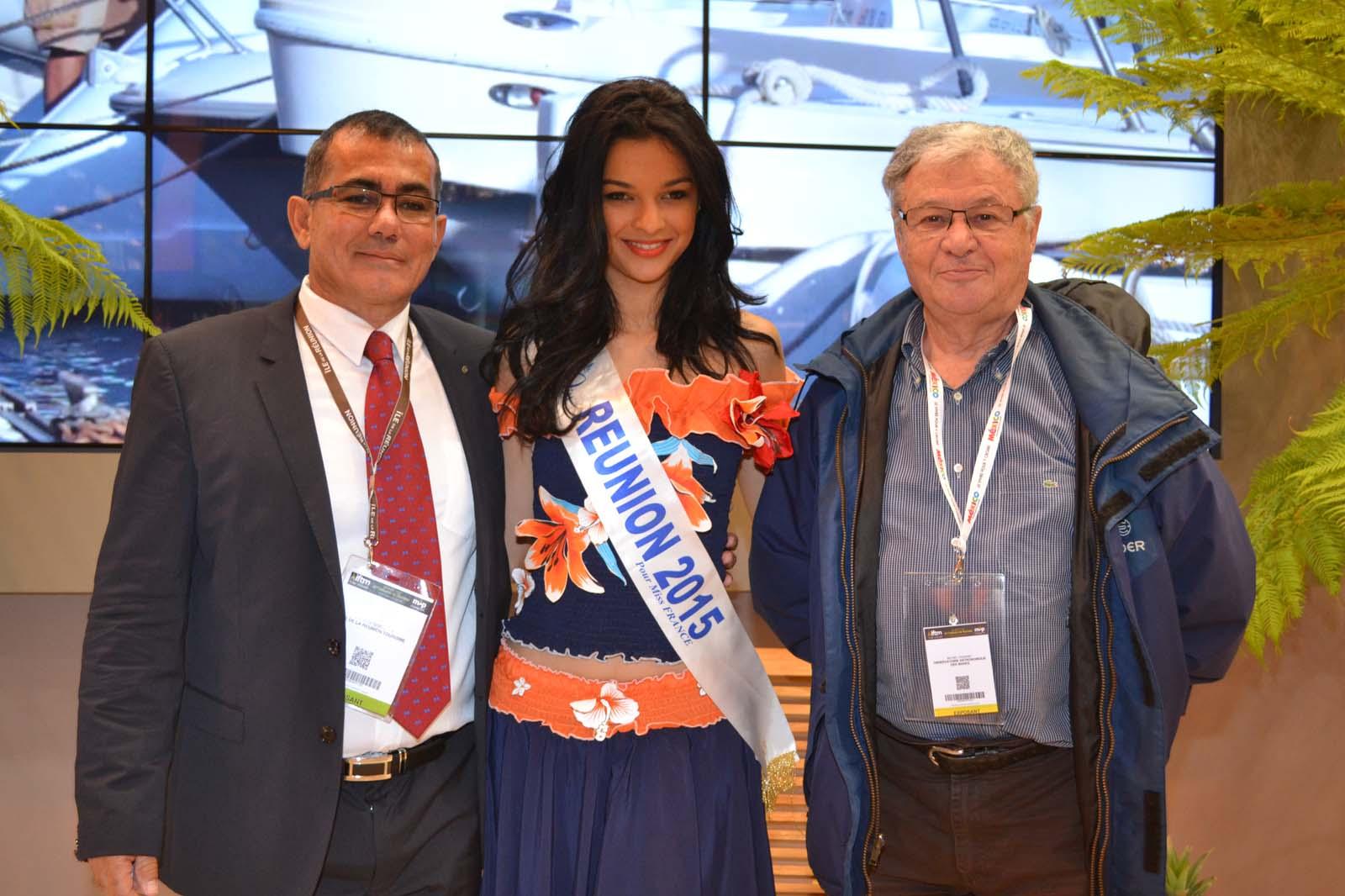 Patrick Serveaux, président de l'IRT, Azuima Issa, et Michel Vignand