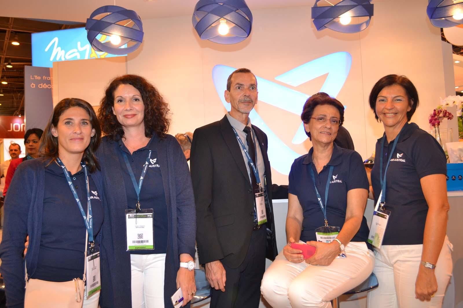 L'équipe Air Austral