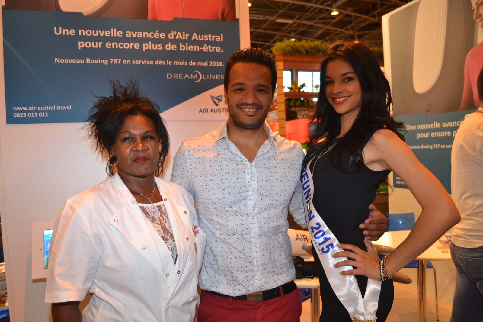 Sonia Billot, gagnante Master Marmite, Jimmy Ferblantier, responsable communication SHLMR, et Azuima Issa