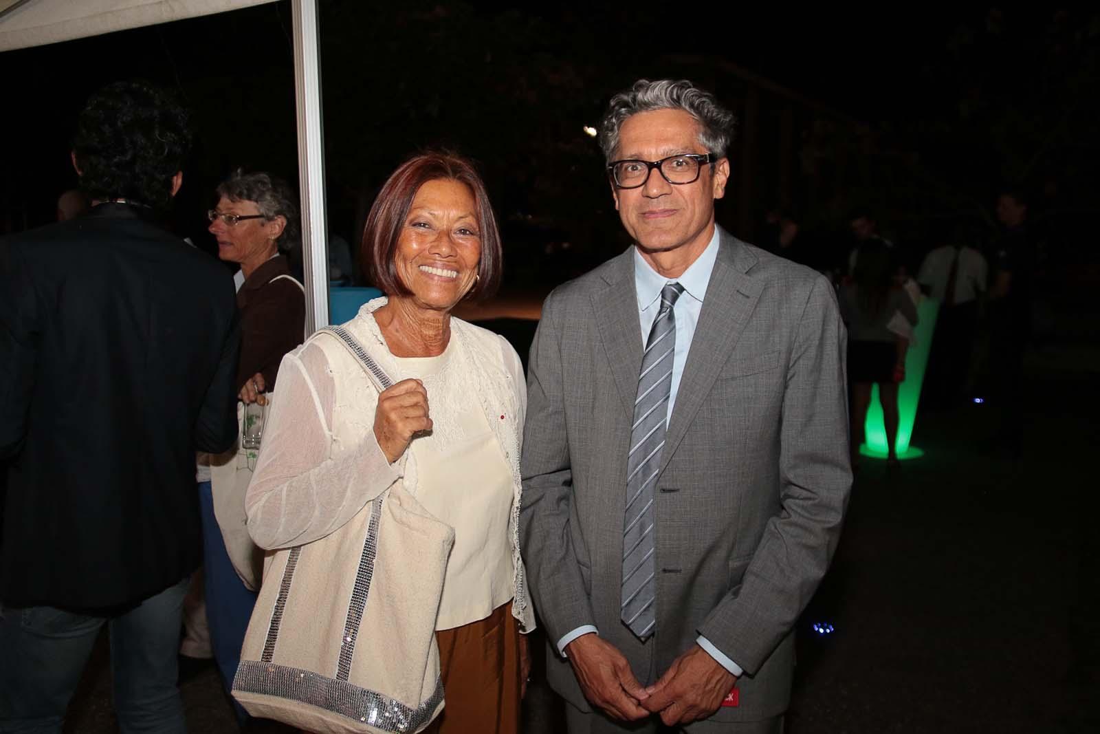 Margie Sudre et un invité