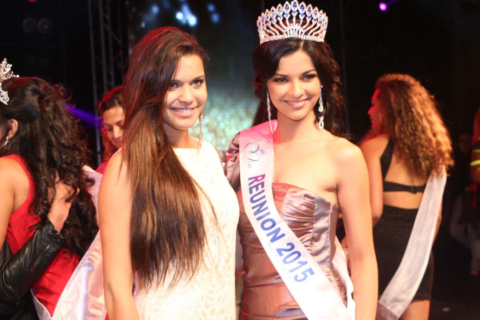 Vanille M'Doihoma, Miss Réunion 2013, et Azuima Issa
