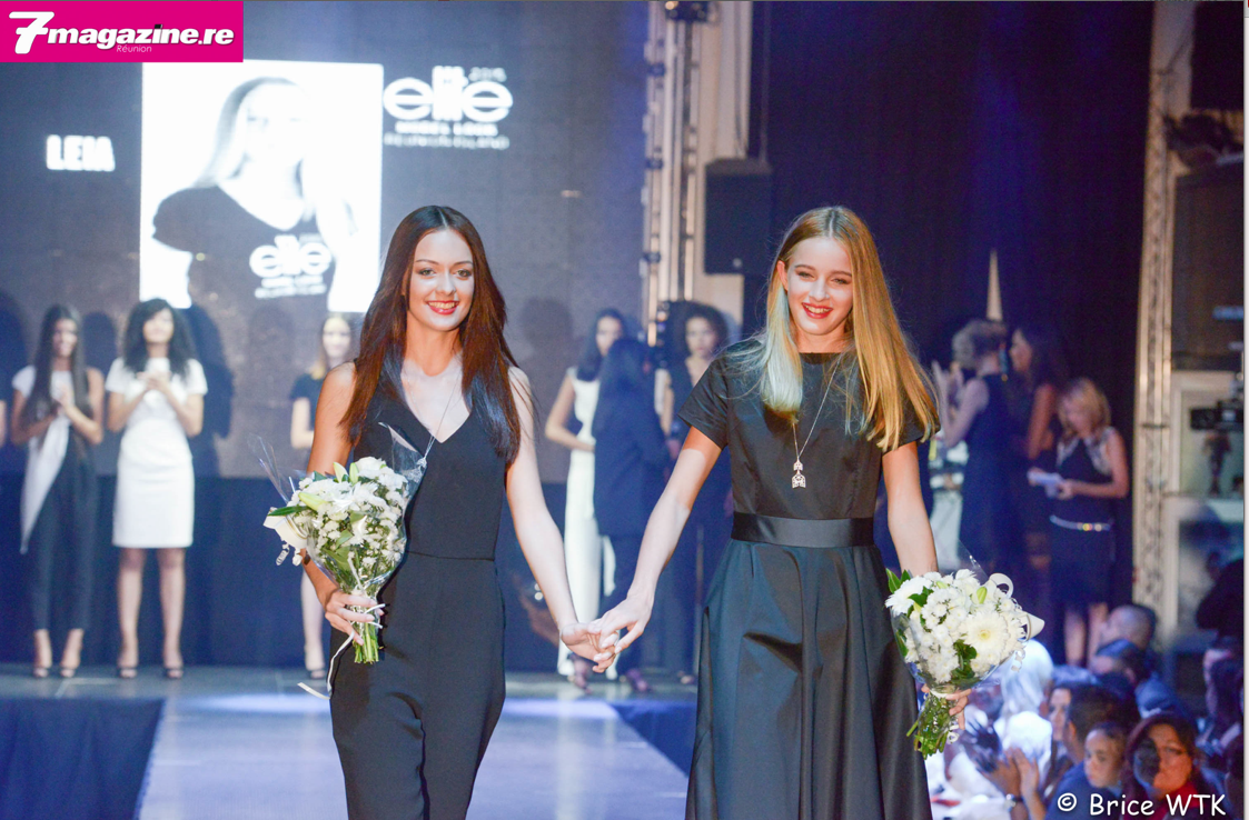 Morgane, Espoir Elite Model Look Reunion Isalnd 2015 et Leia