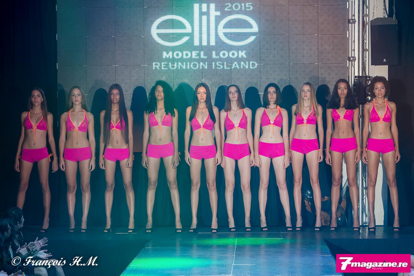Le passage en maillot: finale Elite Model Look Reunion Island 2015
