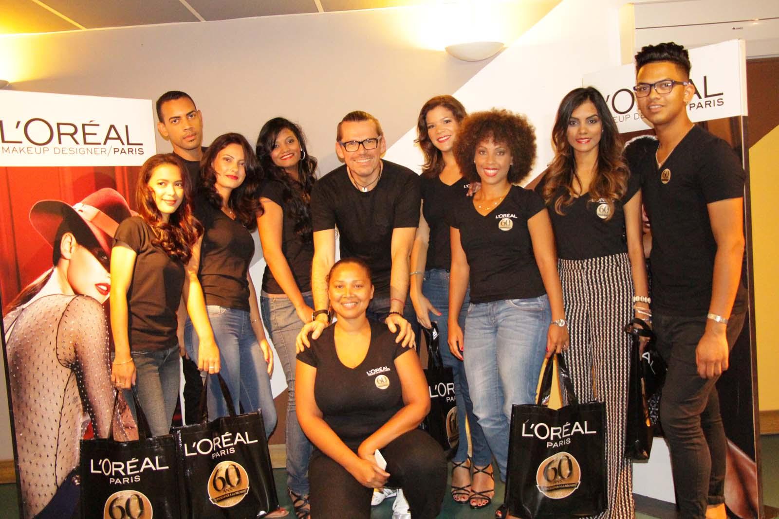 Une journée relooking pour les 6 ambassadrices Réunionnaises de L'Oréal Paris