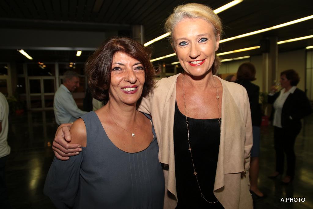 Massi Rivière et Catherine Ronin