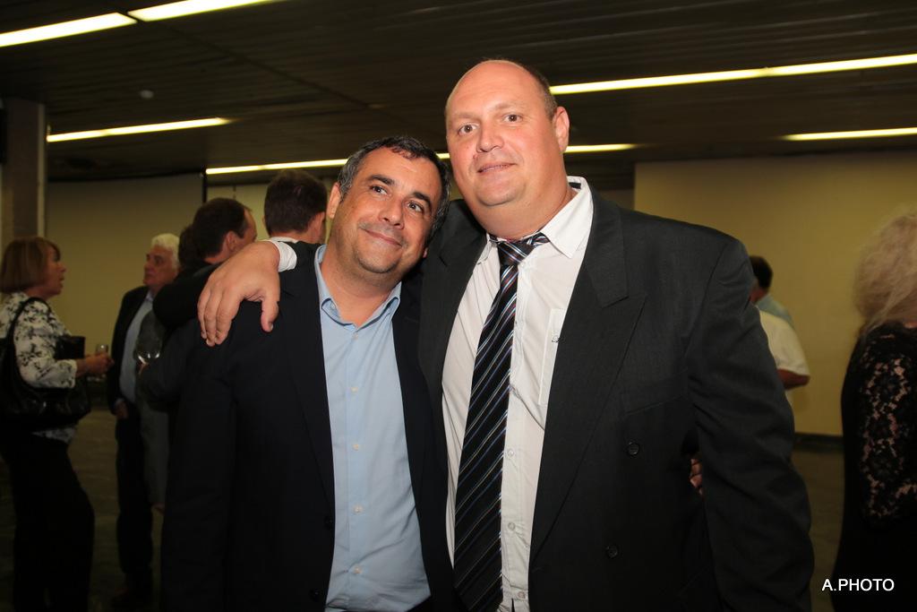 Olivier Bajard et Gilles Técher