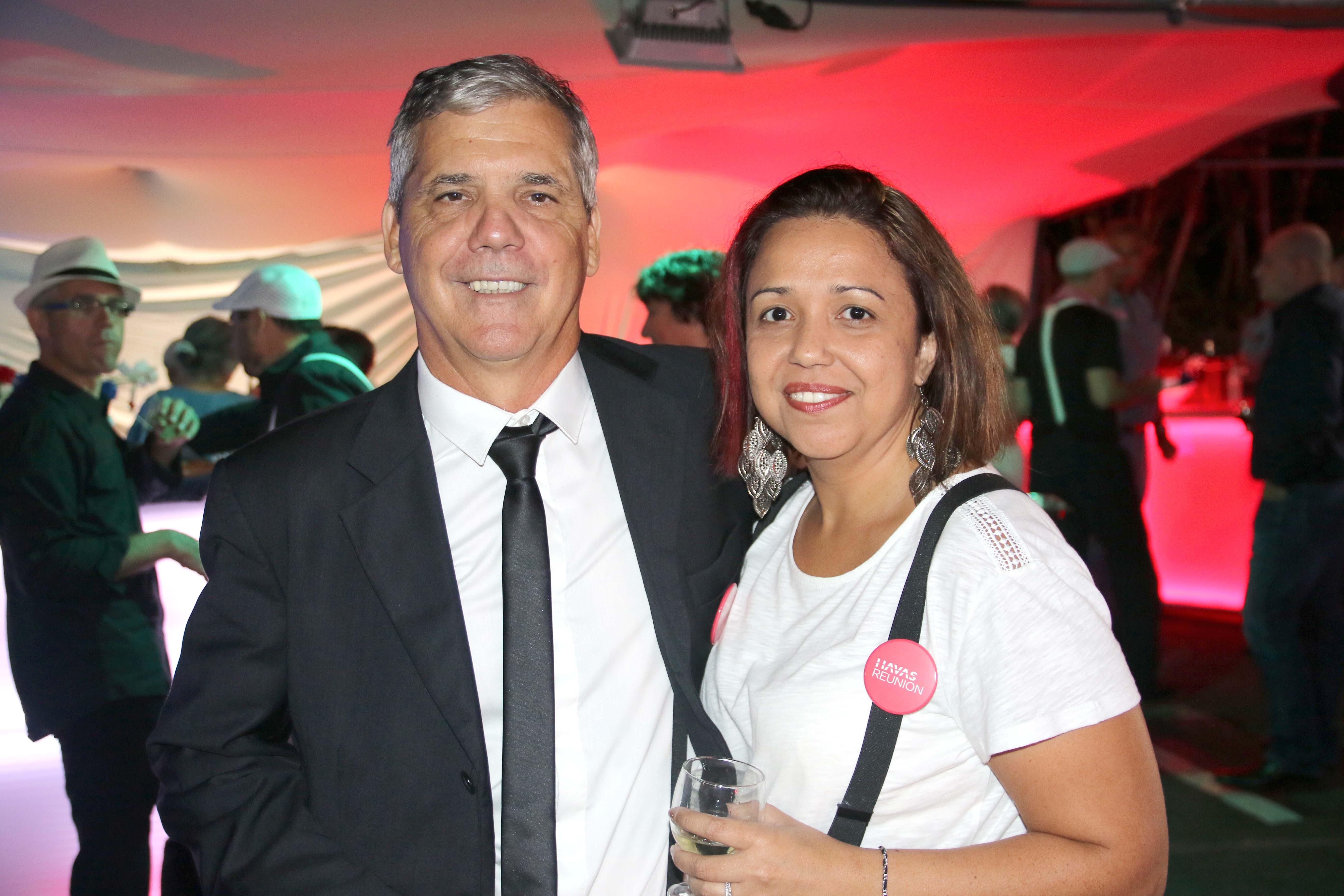 Luis Vieira et sa collaboratrice Valérie Léger