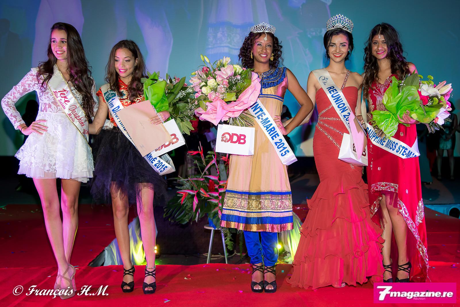 Miss Sainte-Marie 2015<br>Audrey Lebon couronnée