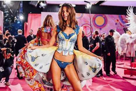 Pauline Hoarau: les première photos du show Victoria's Secret