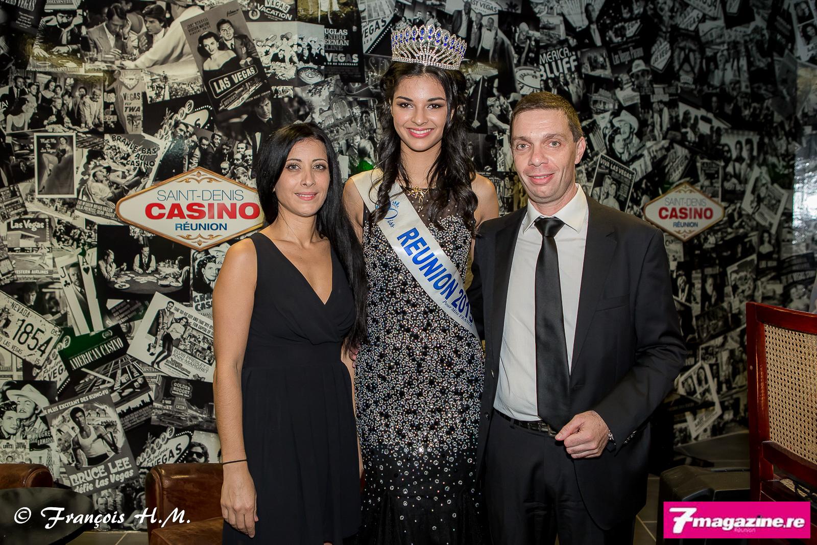 Myriam Dufour, directrice financière du Casino de Saint-Denis, Azuima Issa, et Jean-Charles Ottavi