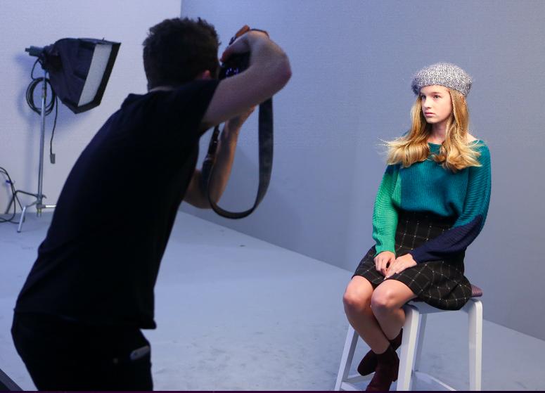 Elite Model Look 2015<br>Leia Matagne, la candidate de La Réunion, est à Milan!