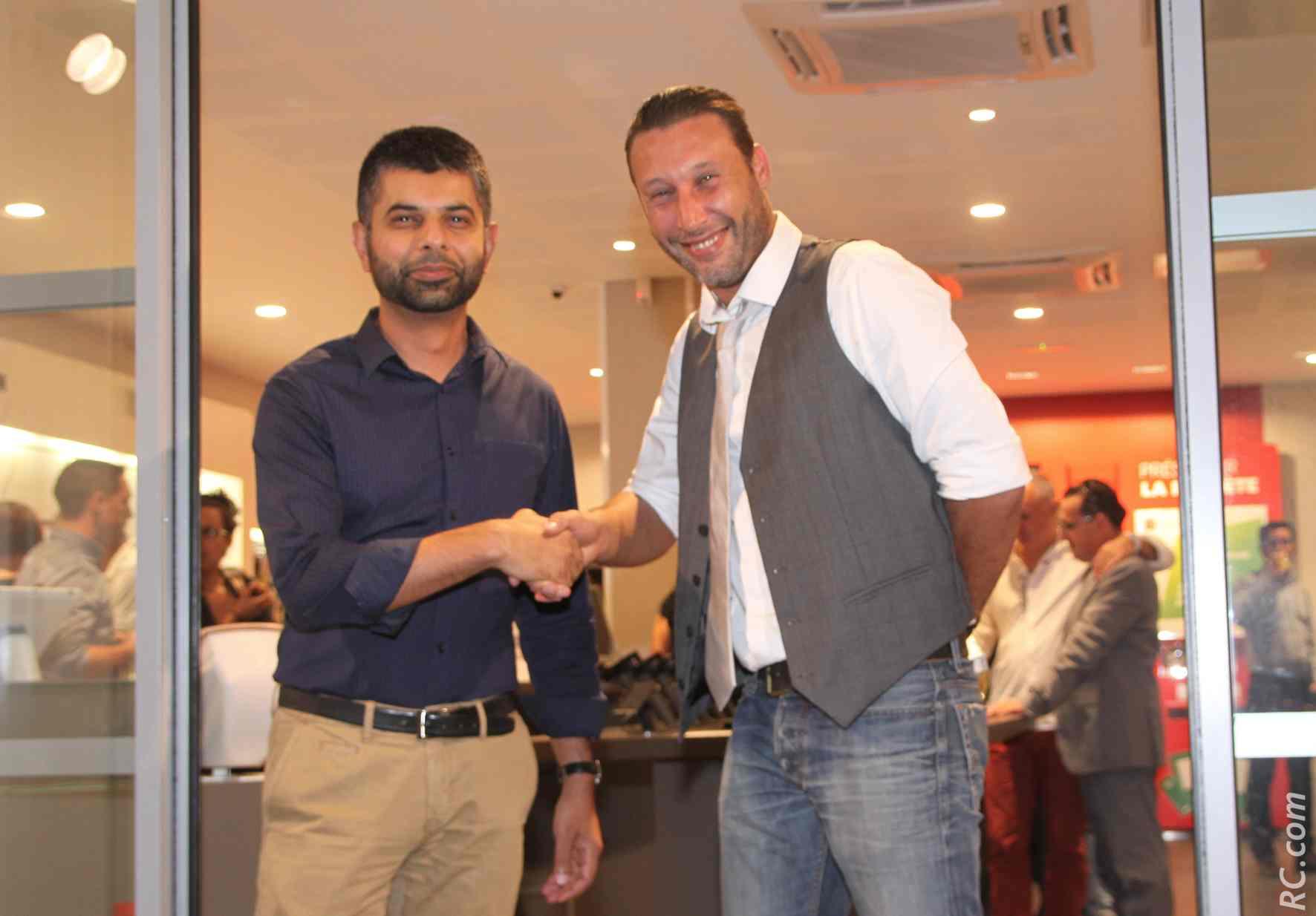 Norman Simjee et un invité