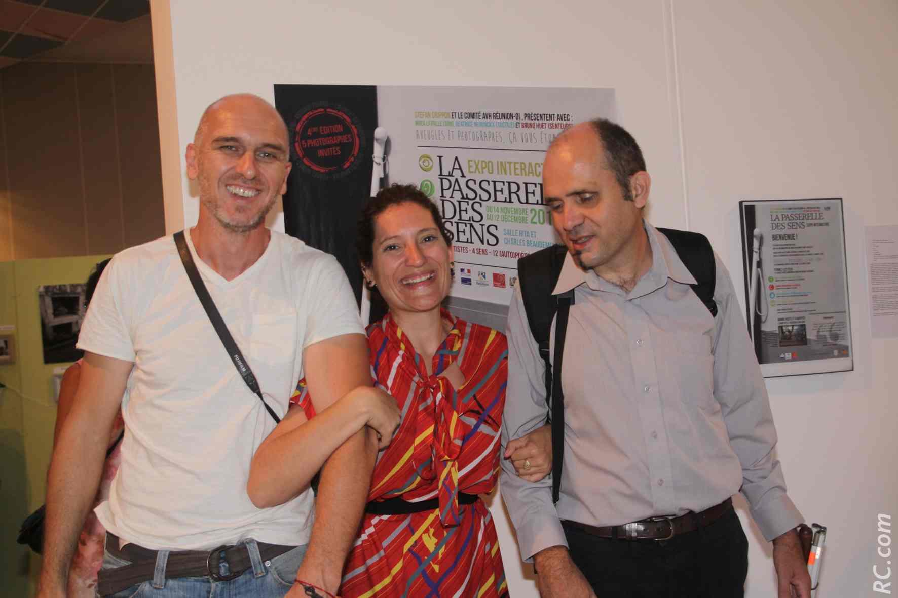 La Passerelle des Sens au Tampon:<br>Une expo différente...