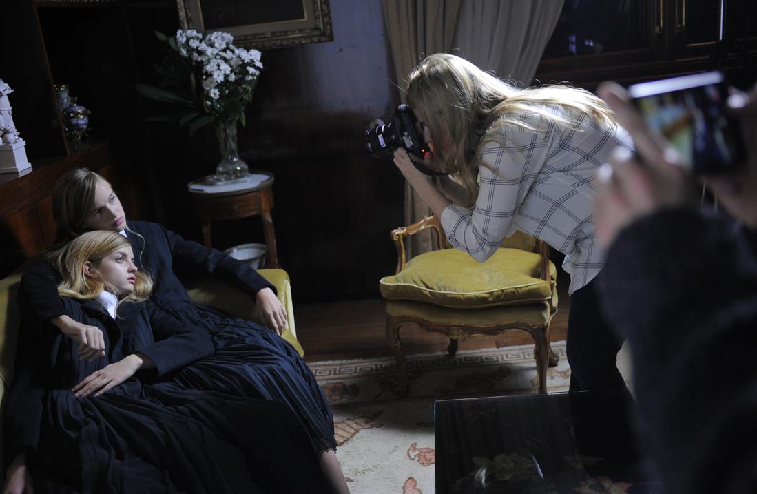 Le premier shooting international de Leia