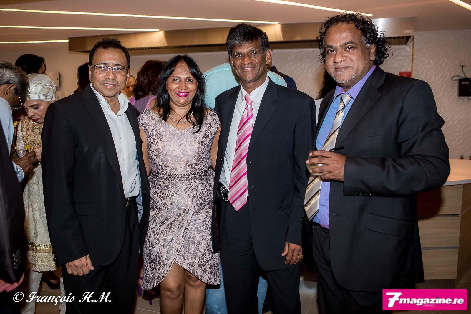 Ibrahim Patel et ses amis