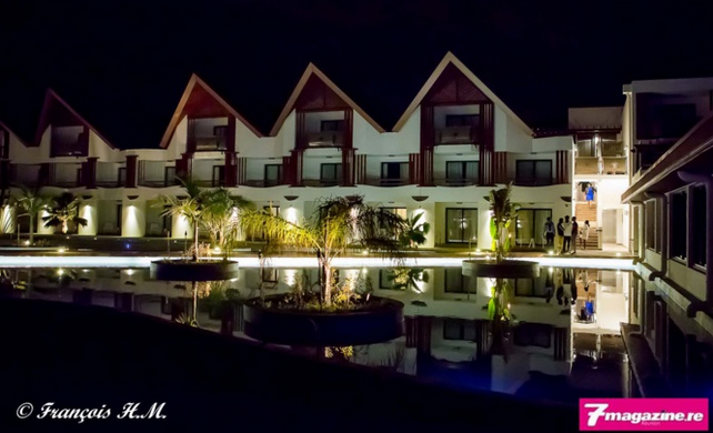 Hôtel Akoya à Trou d'Eau<br>Inauguration en grande pompe