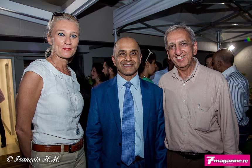 Catherine Ronin, Abdoullah Lala et Aziz Patel