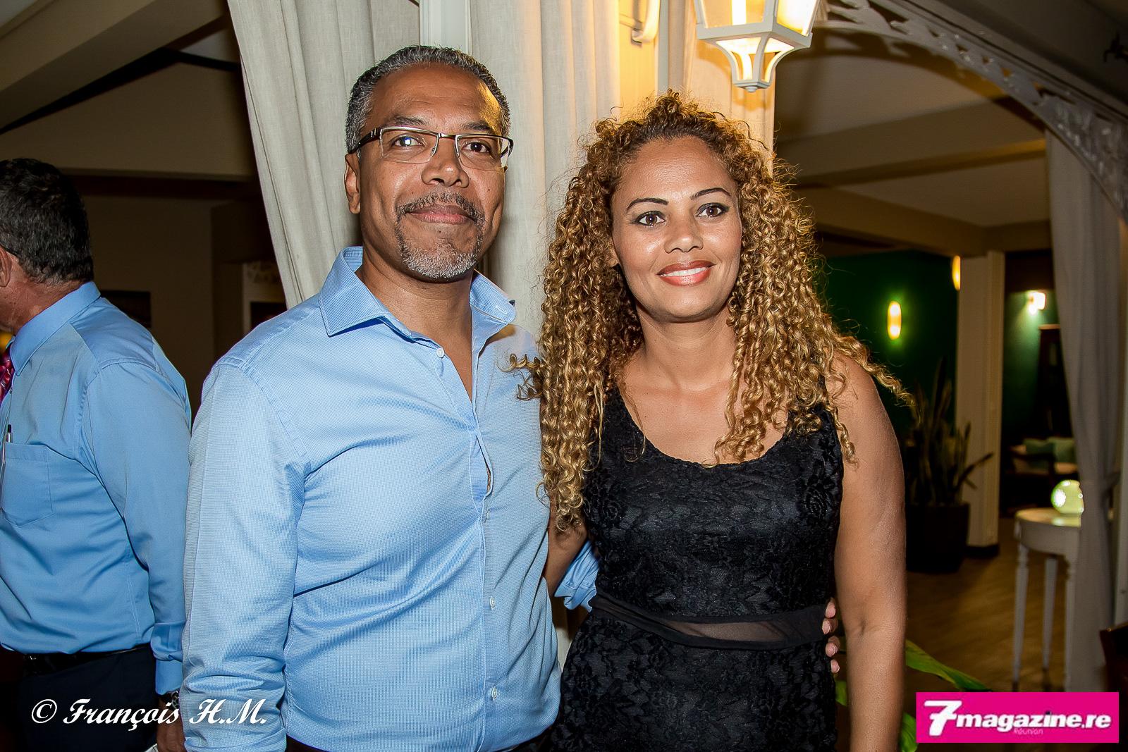 Teddy Soret et son épouse