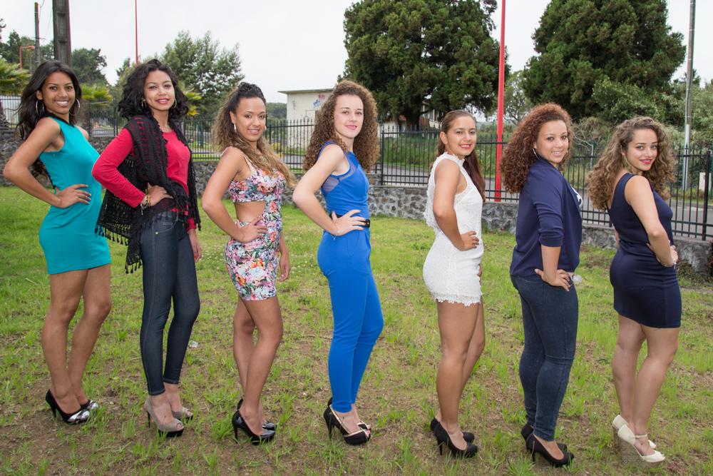 Miss Plaine des Cafres 2016<br>Les 7 candidates