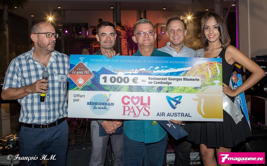 Georges Rhumerie du Cambodge a remporté 1 000 euros