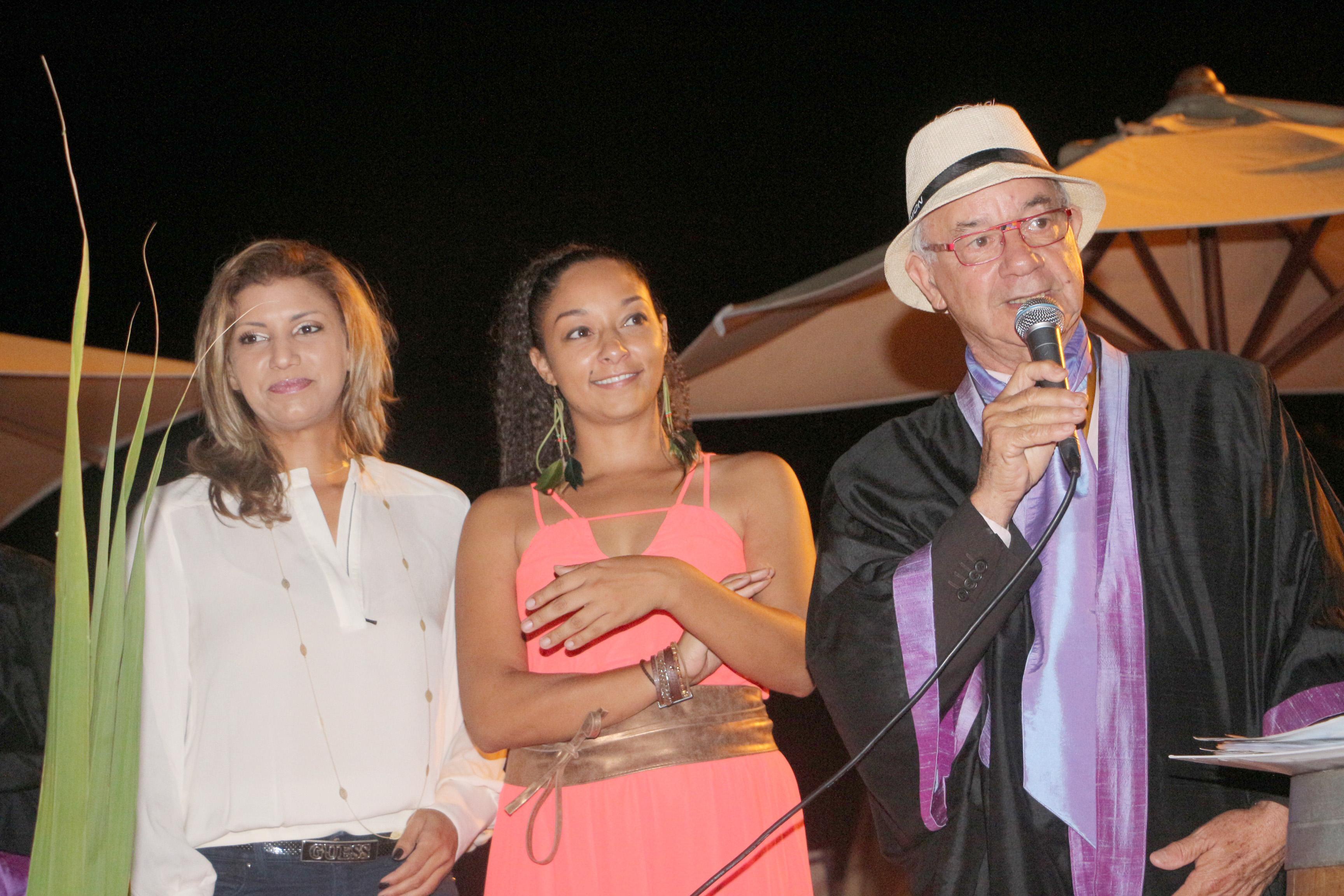 Gessica Pitou, Yaëlle Trulès et Edmond Lauret